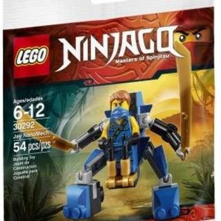 LEGO Ninjago Jay Nano Mech 30292