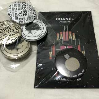 Chanel Button Badges