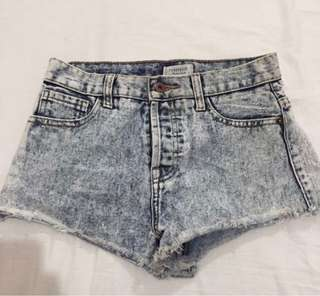 Forever 21 shorts / hotpants
