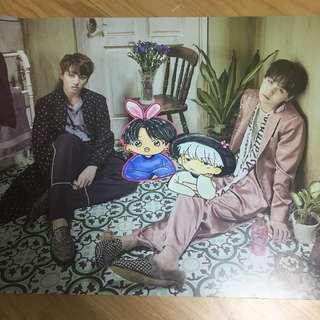 Bts JungKook&Suga Poster