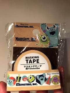 怪獸大學 膠紙 Monsters, inc