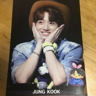 BTS JungKook Poster