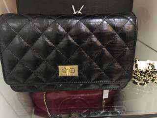 Chanel Reissue Quilted Wallet on Chain WOC