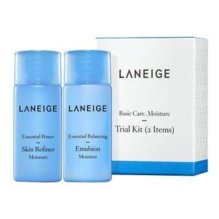 Laneige Basic Care Ultra Moisture Trial Kit