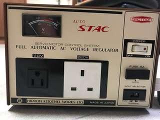 AC Voltage Regulator (日本電器變壓器)