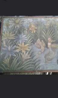 Preloved lukisan dari ubud