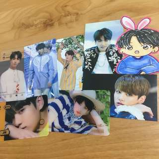 BTS JungKook Card Set