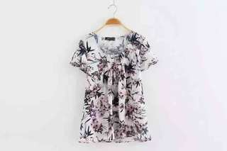Lucy Floral Blouse Shirt