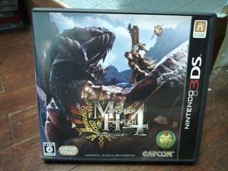 USED 3Ds LL Monster Hunter 4