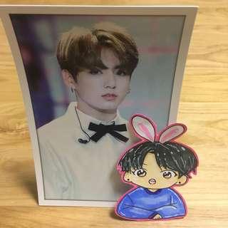 BTS JungKook Standing PhotoCard