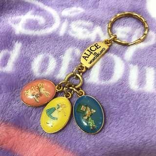 愛麗絲夢遊仙境 鑰匙圈 英國帶回 Alice's shop 迪士尼