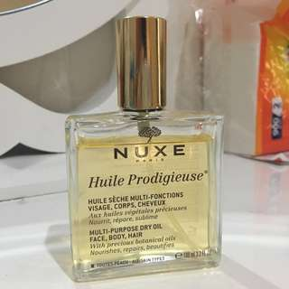 Nuxe (for skin body , face and hair)