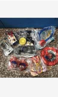 全新8個 麥當勞 超人系列玩具 8入ㄧ起賣