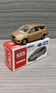 Tomica Asia Datsun Go+ brown