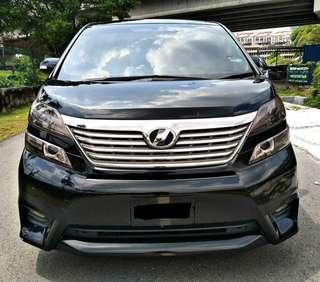 Toyota vellfire 2.4 ZP SAMBUNG BAYAR 0164612021
