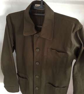 Coverall jacket paperfeed