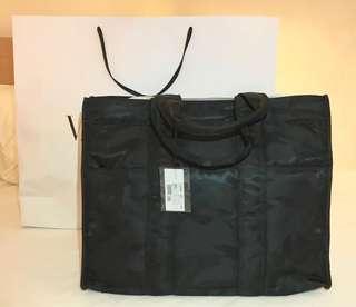 Valentino 黑色迷彩Tote Bag