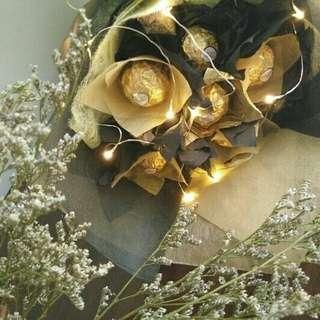 Fairylight Chocate Bouquets
