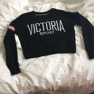 Victoria secret cropped sweater