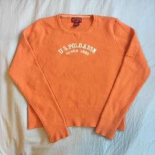 Orange POLO long sleeve
