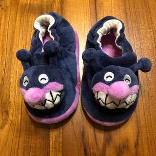 細菌人室內鞋 絨毛造型防滑鞋