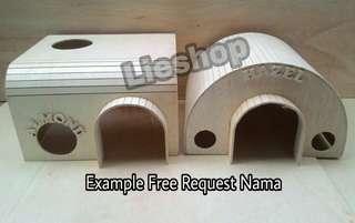 contoh custom nama GRATIS setiap pembelian hiding box