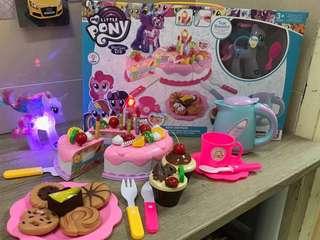 閃燈 Pony 蛋糕set