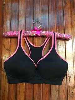 Black Sports bra 36B