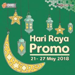 Promotion Raya - Wave2 start from 21 - 27 May 2018