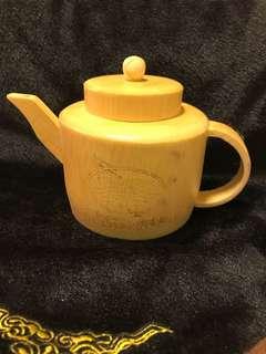 罕見 竹茶壺