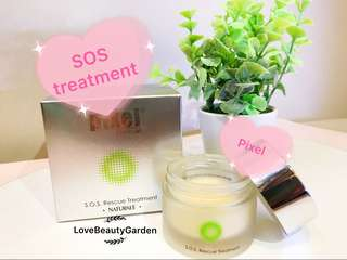 Pixel Clinical S.O.S Rescue Treatment  Pixel 活肌急救面膜