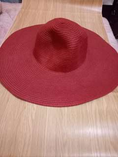 Sizzling Red Summer Hat