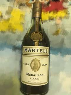 Martell Médaillon Cognac 金牌 馬爺利 VS.O.P. 70年代