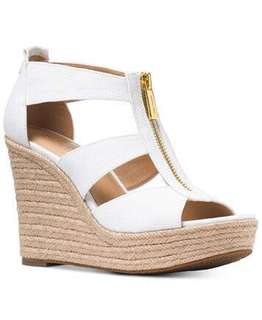 Michael kors 草編鞋