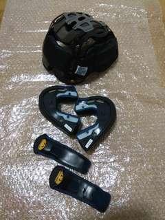 *PRE-OWNED* Ram3 Size M Full Set Paddings Arai R3 Design 57 - 58cm