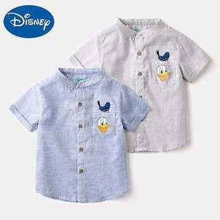 Disney boys shirt short-sleeved