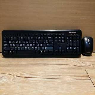 微軟Microsoft標準鍵鼠組/鍵盤/滑鼠