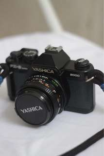 Yashika FX3 - Super 2000 analog