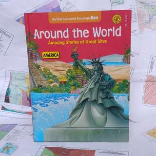 Around the World - America - Encyclopebee - Pustaka Lebah