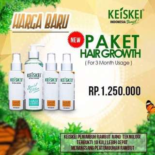 Penumbuh Rambut Ampuh | Perawatan Rambut Alami | 3 Max Hair Growth