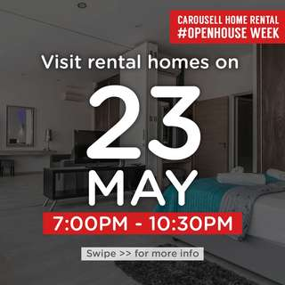 ⏰Wed 23 May 7pm to 10.30pm : Visit these 🏡homes for rent!  #OpenHouse Week