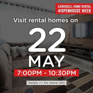 ⏰Tues 22 May 7pm to 10.30pm : Visit these 🏡homes for rent!  #OpenHouse Week