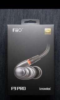 Fiio F9 pro 耳機 耳筒