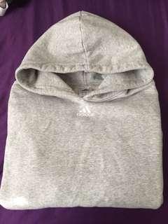 Grey Adidas hoodie