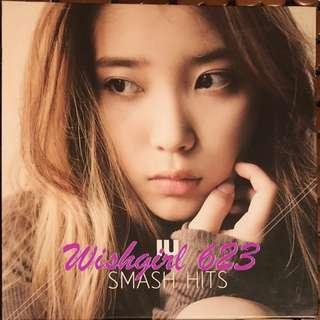 IU/李知恩 -『SMASH HITS』首張完美精選專輯 CD+DVD (絕版)~製作人、月之戀人、我的大叔、孝利家民宿