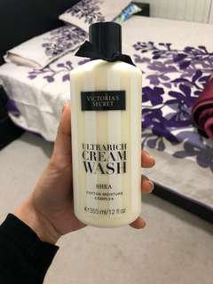 Victoria's Secret Shea cream body wash