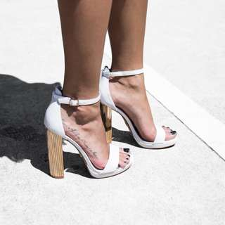 WINDSOR SMITH Remi Heels in White