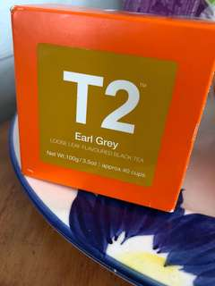 Earl Grey tea from T2
