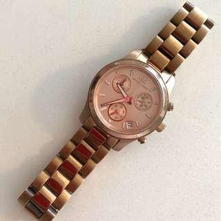 Michael Kors: Rose Gold Watch