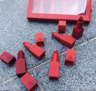 Raya Special - Instock 3CE red edition set lipstick ($12.50 Mailed)